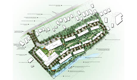 Scotts road retirement village landscape architecture for Landscape architecture new zealand